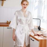 2020新品 AE-001 政泽妮 丝缎睡衣 睡袍