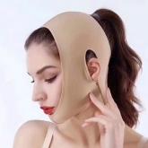 2020新品 BW-008  小V脸面罩 德国美肤面料 医学塑形 重塑轮廓 天鹅颈 祛双下巴 全脸紧致提升 淡化细纹