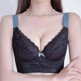 2021-X003 政泽妮 薄杯  六排扣 玻尿酸 养护文胸 套装